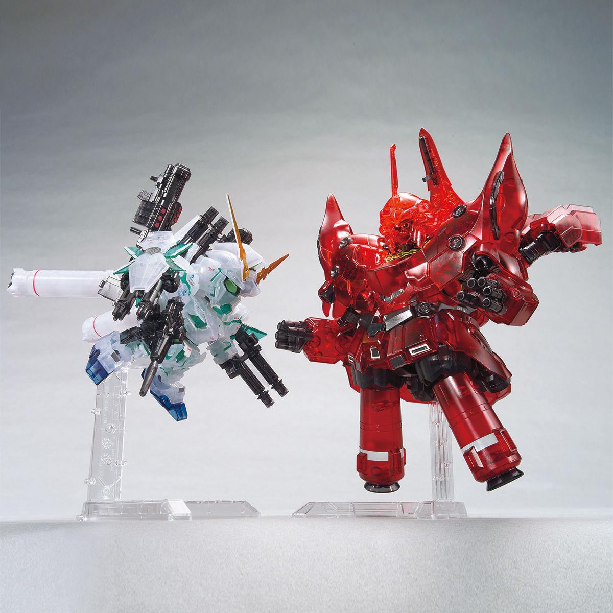 BB戦士 ガンダムベース限定 フルアーマー・ユニコーンガンダム&ネオ・ジオング [クリアカラー] 商品画像