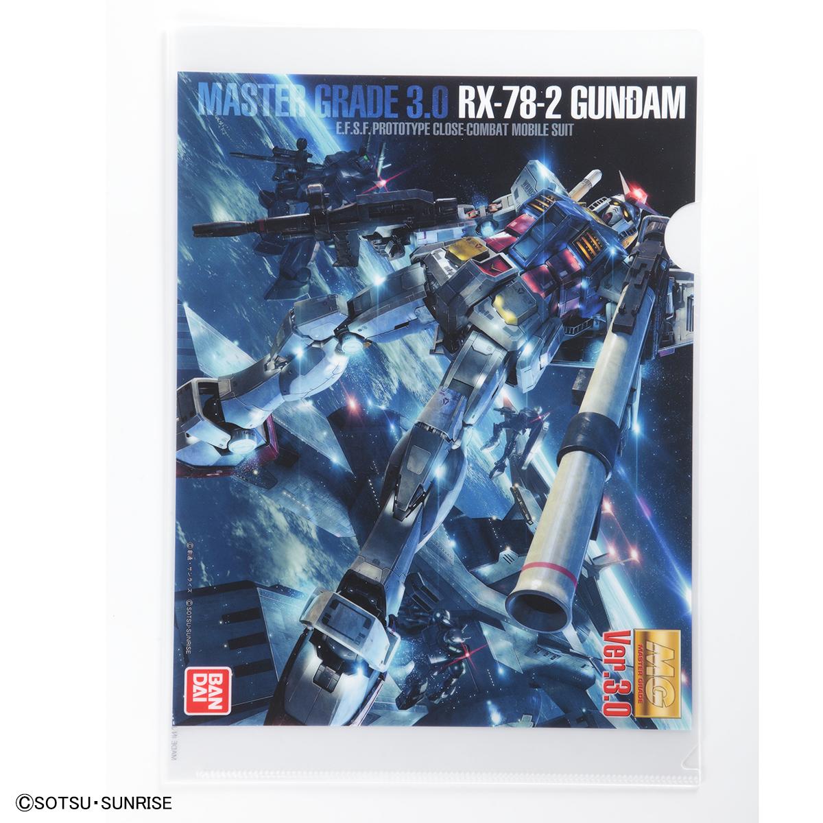 THE GUNDAM BASE クリアファイル  RX-78-2 ガンダム・シャア専用ザクII 商品画像