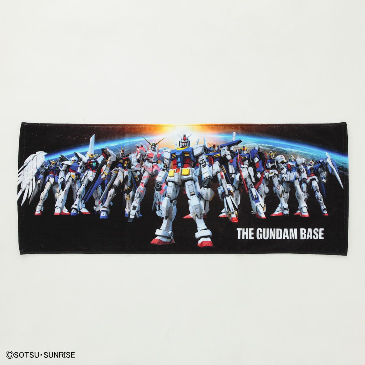 THE GUNDAM BASE フェイスタオル 商品画像