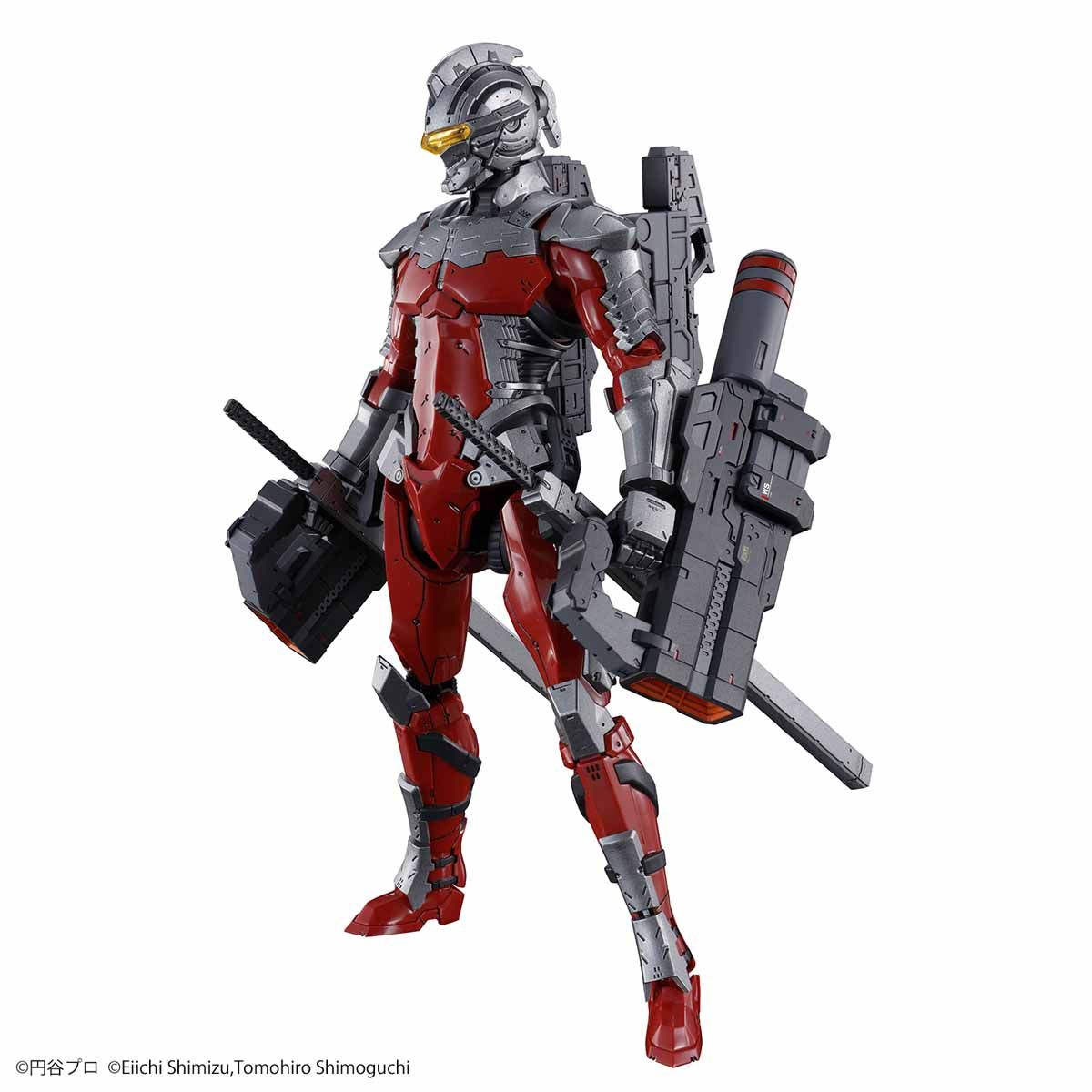 Figure-rise Standard 1/12 ULTRAMAN SUIT Ver7.3(FULLY ARMED) 01