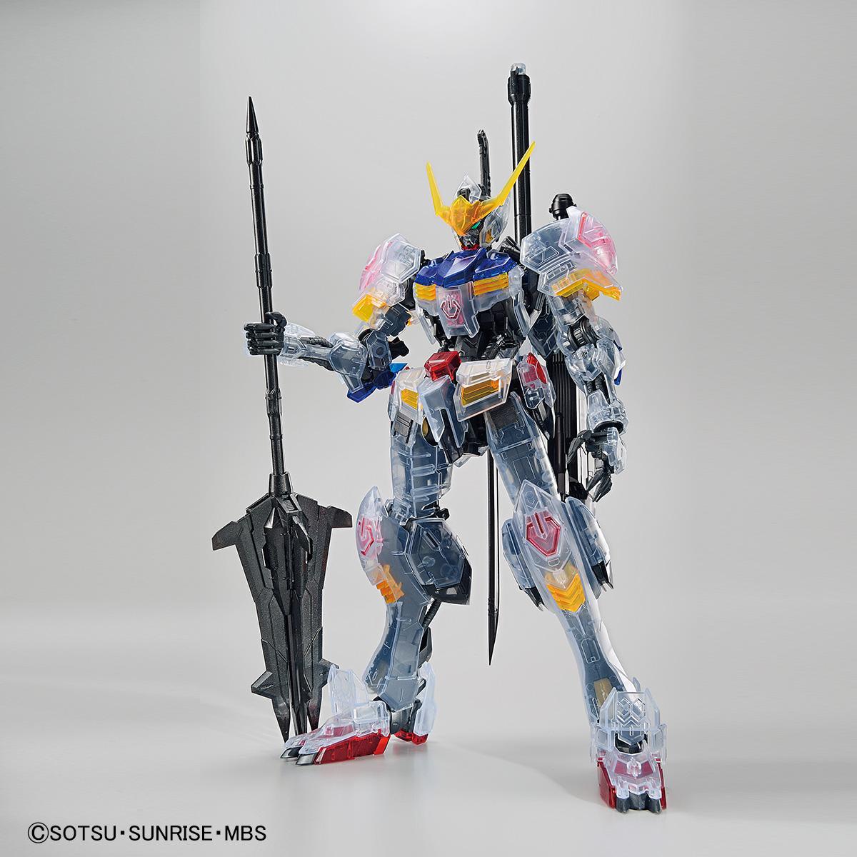 MG 1/100 ガンダムベース限定 ガンダムバルバトス[クリアカラー] 商品画像
