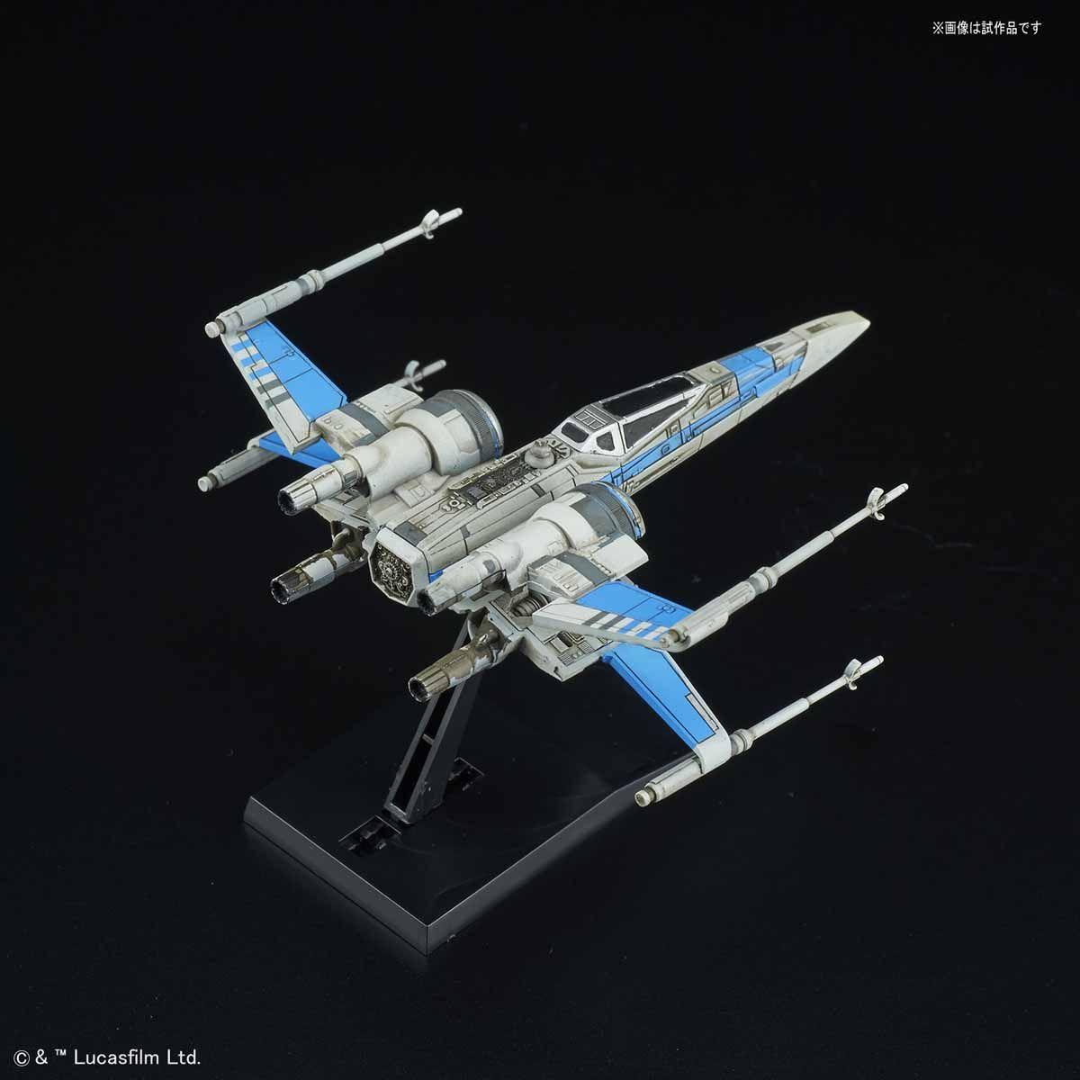 ビークルモデル 011 Xウイング・ファイター レジスタンス ブルー中隊仕様 02