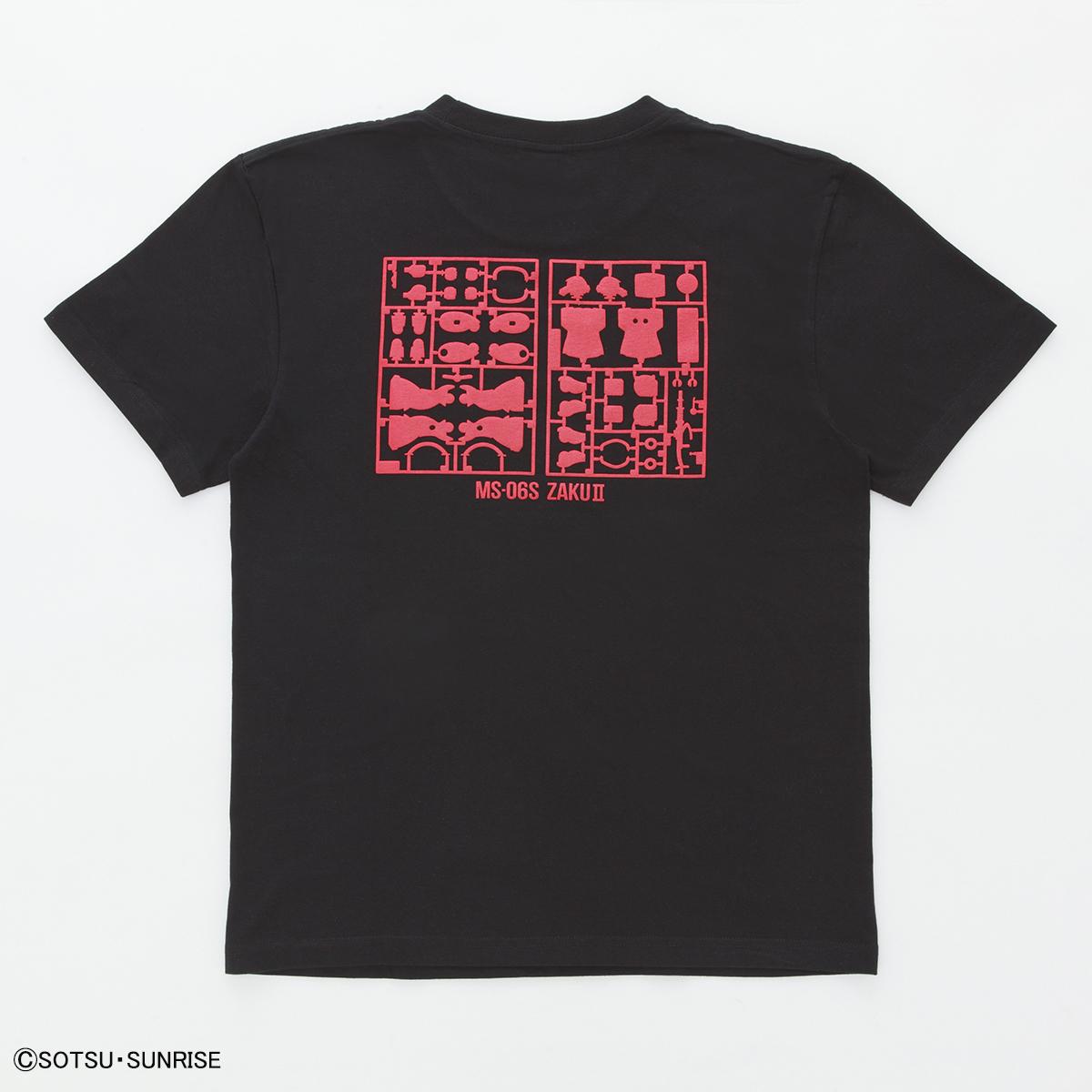 機動戦士ガンダム ガンプラ ランナー Tシャツ MS-06S シャアザク 商品画像