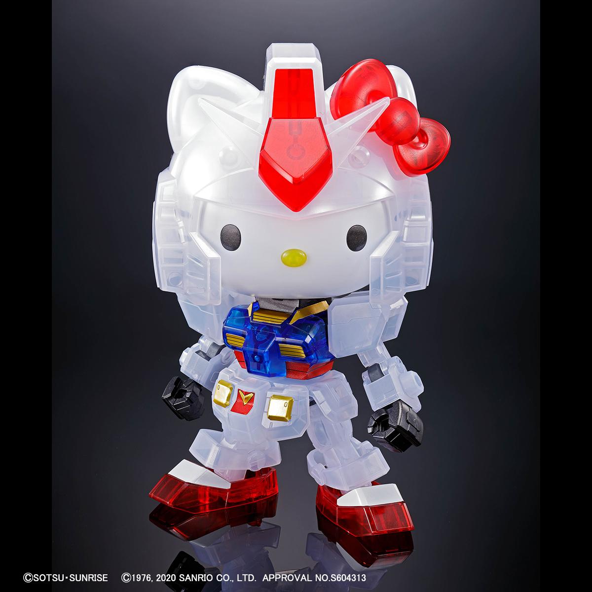 ハローキティ/RX-78-2 ガンダム[SD EX-STANDARD][クリアカラー] 商品画像