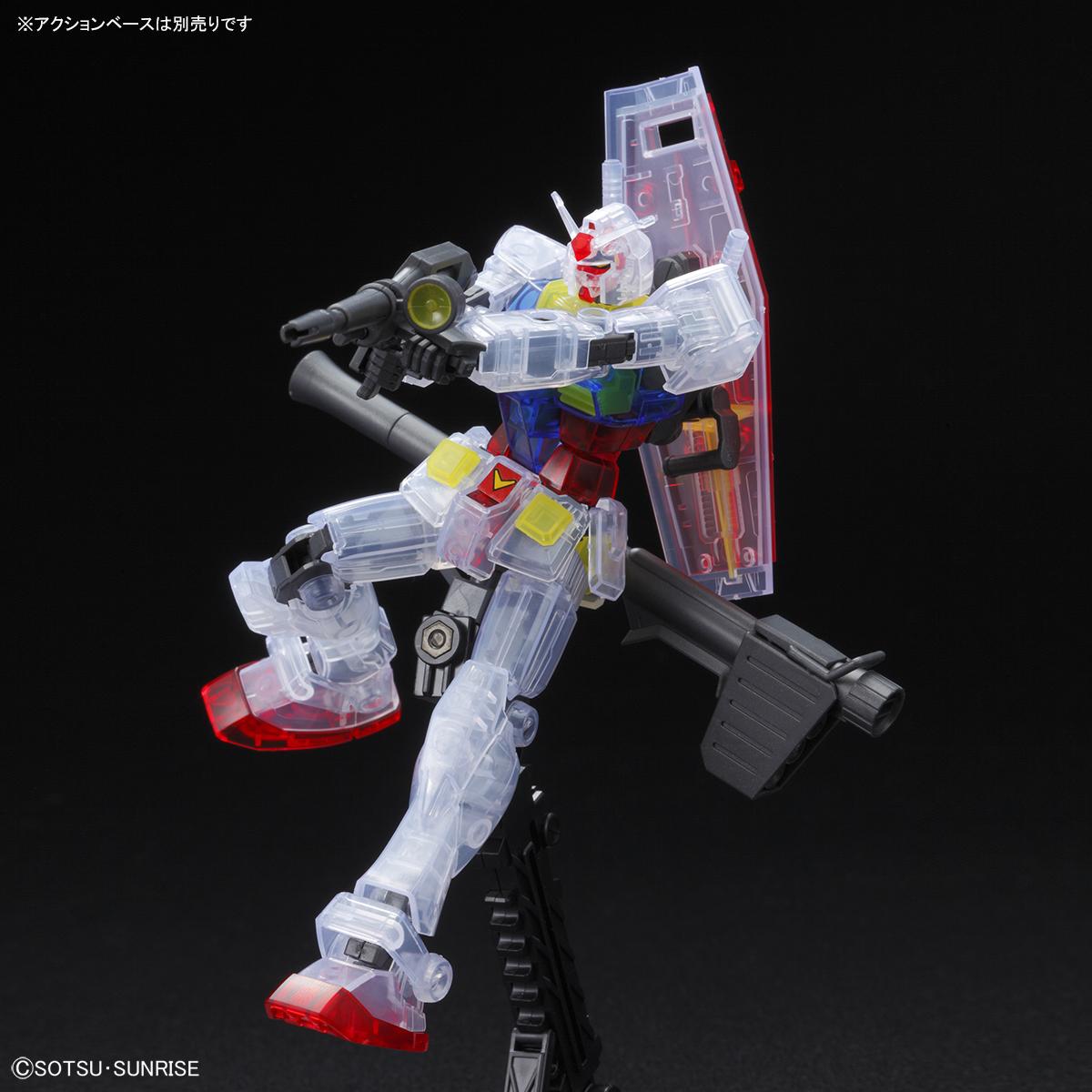 HG 1/144 RX-78-2 ガンダム[クリアカラー] 商品画像