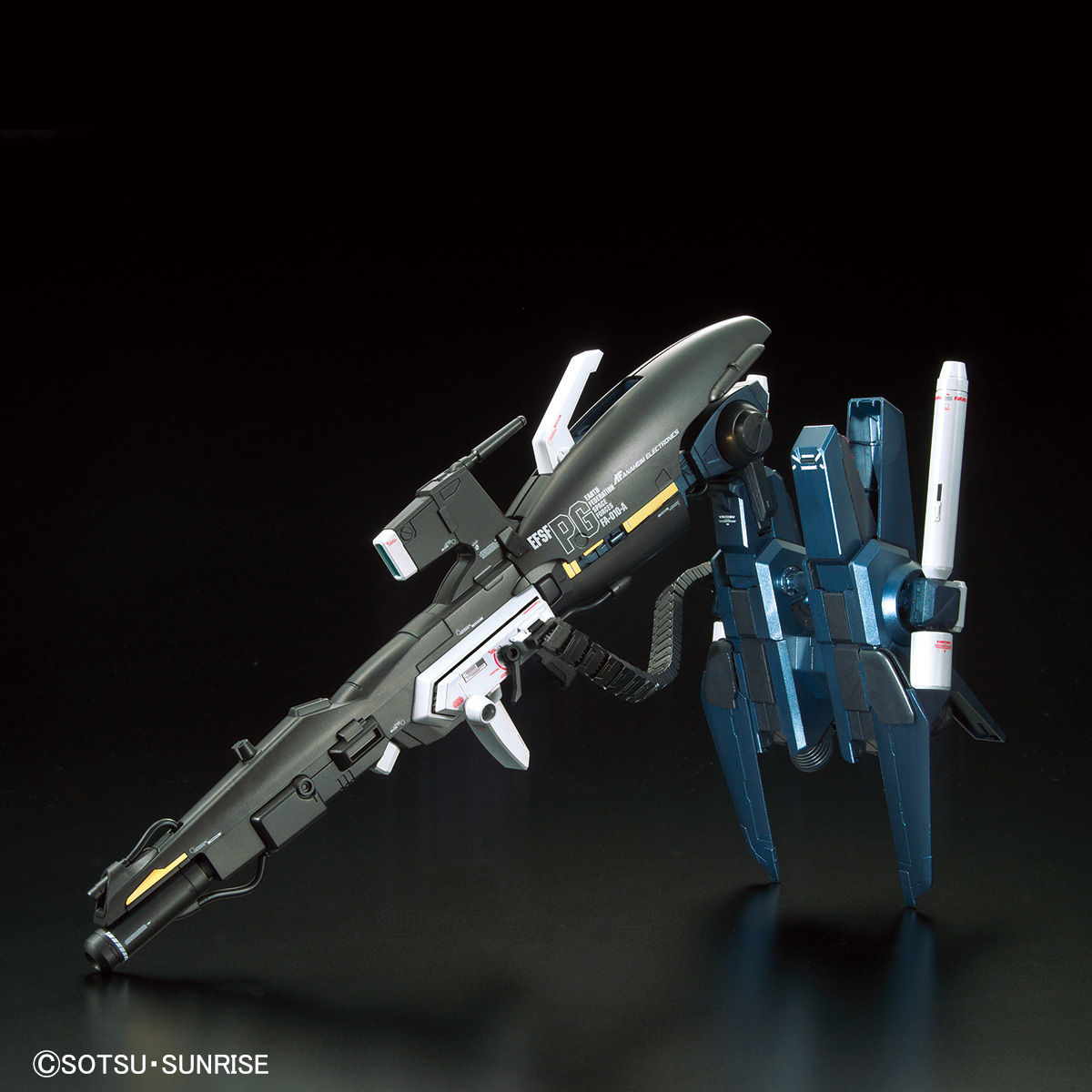 MG 1/100 ガンダムベース限定 FAZZ Ver.Ka[チタニウムフィニッシュ] 商品画像