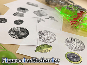 開発ブログ更新!【全日本模型ホビーショー】Figure-rise Mechanicsハロ初展示!