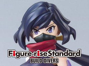 「Figure-rise Standard BUILD DIVERS ダイバーアヤメ」「MG 1/100ガンダムAGEIIマグナム」商品詳細公開!
