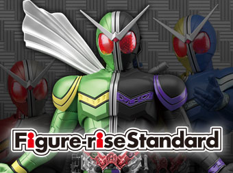 Figure-rise Standard「仮面ライダーW」「ULTRAMAN SUIT Ver.7.3 (FULLY ARMED)」登場!
