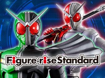 Figure-rise Standard「仮面ライダーW サイクロンジョーカー」「仮面ライダーW ヒートメタル」商品情報追加!
