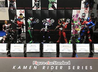 開発ブログ更新!! 全日本 模型ホビーショー 仮面ライダー プラモデルブースレポート