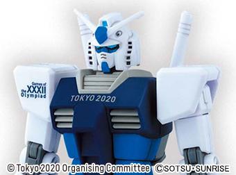 東京2020 公式ライセンス商品「HG 1/144 RX-78-2 ガンダム(東京2020オリンピックエンブレム)」