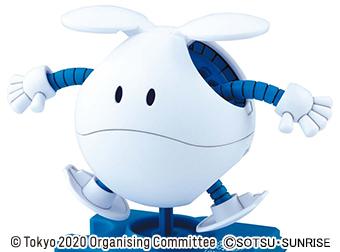 東京2020 公式ライセンス商品「ハロプラ ハロ(東京2020オリンピックエンブレム)」