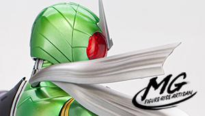 開発ブログ 新ブランド登場‼ 美麗塗装による『MG FIGURE-RISE ARTISAN 仮面ライダーW サイクロンジョーカー』のサンプル紹介!!