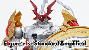 【開発ブログ更新!!】 「Figure-rise Standard Amplified デュークモン」のご紹介!!
