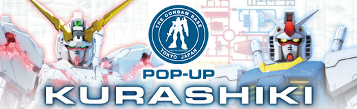 THE GUNDAM BASE TOKYO POP-UP in KURASHIKI