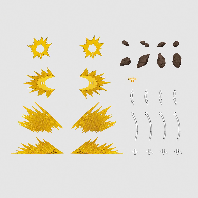 Figure-rise Effect 衝撃波 イエロー