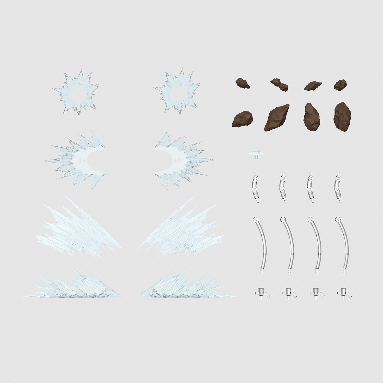 Figure-rise Effect 衝撃波 ホワイト