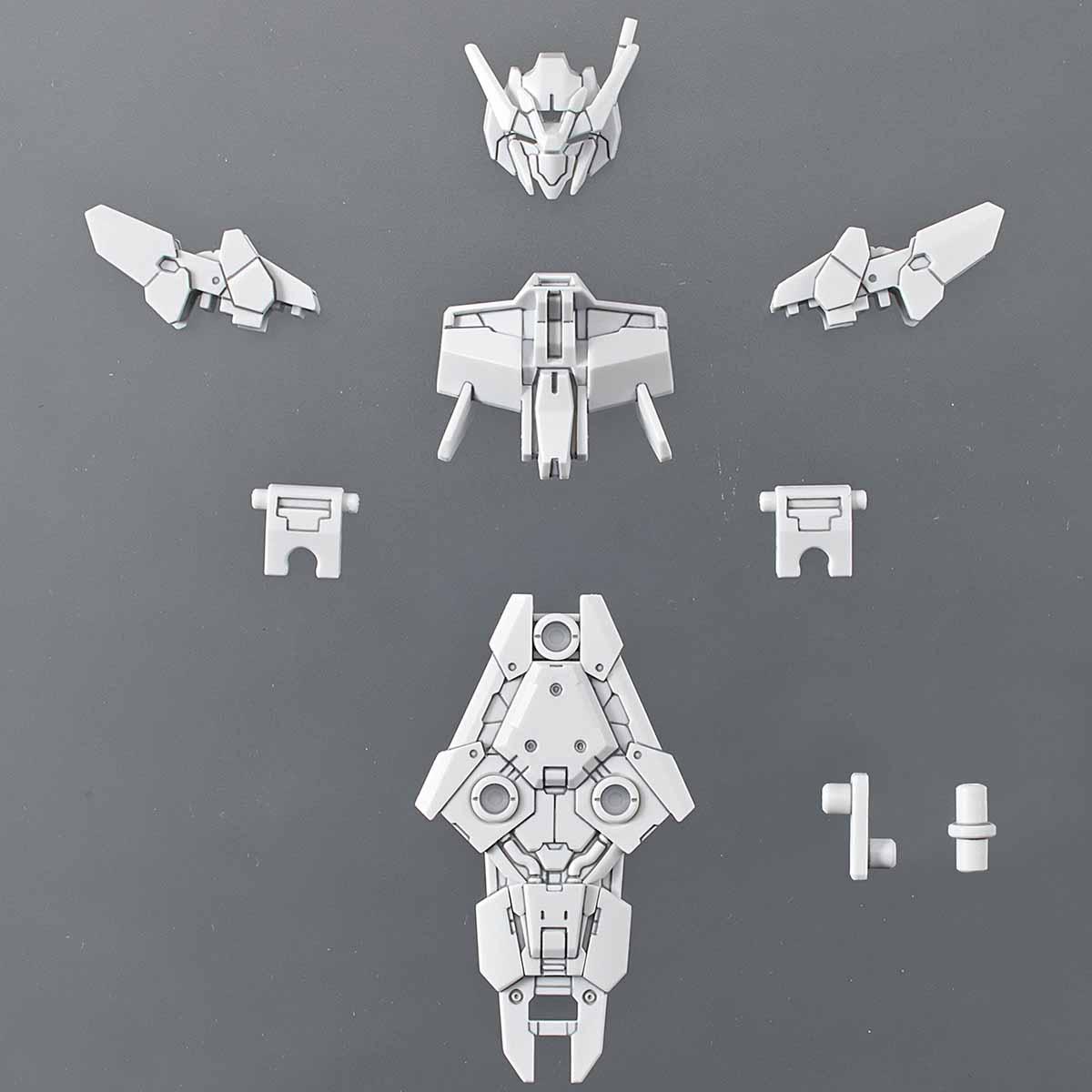30MM 1/144 指揮官機用オプションアーマー[アルト用/ホワイト]