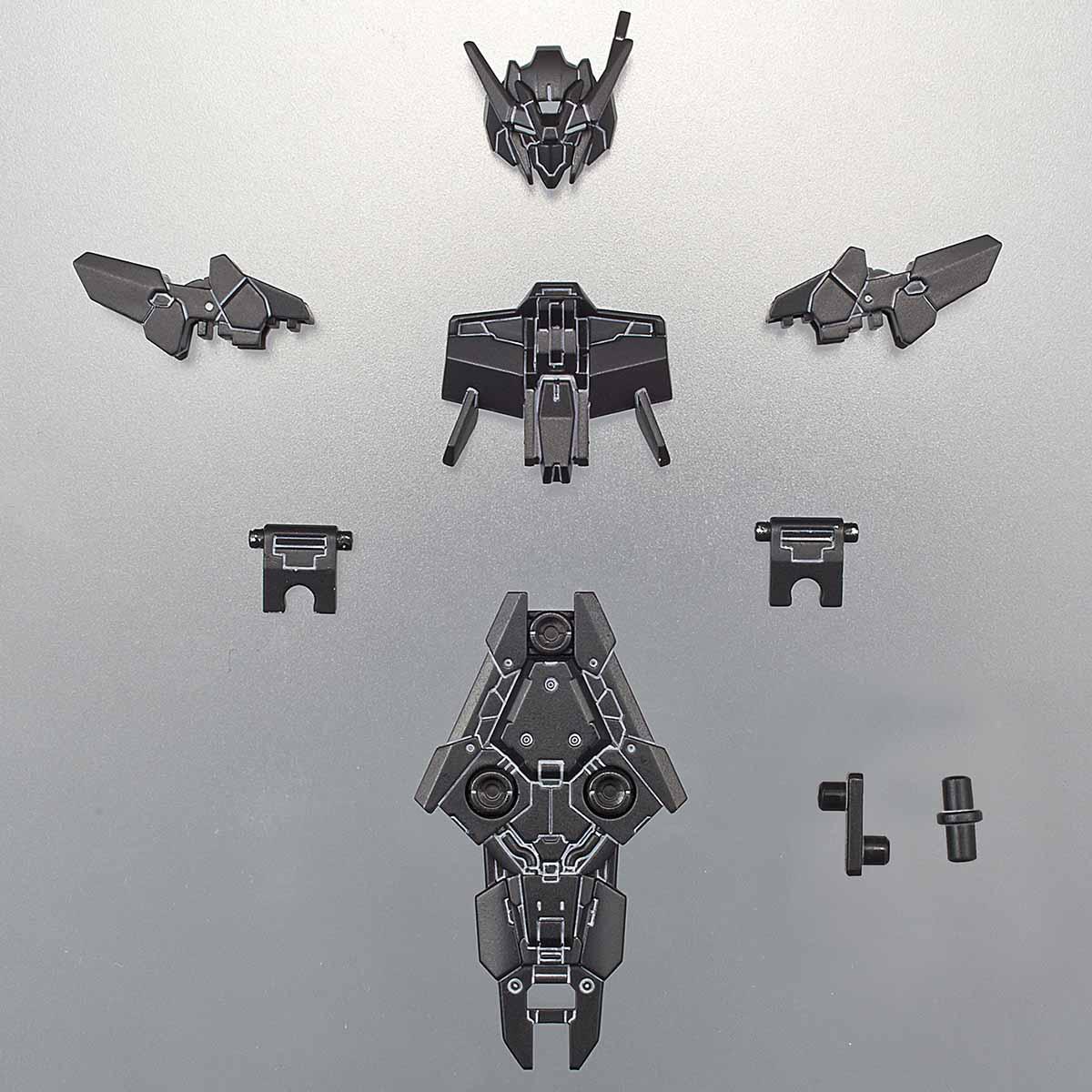 30MM 1/144 指揮官機用オプションアーマー[アルト用/ブラック]