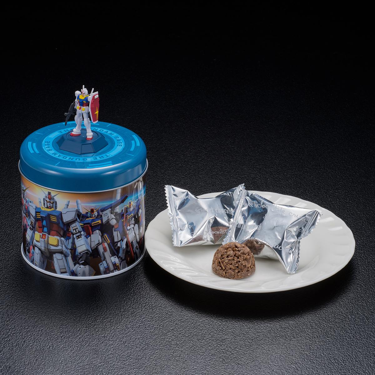 THE GUNDAM BASE ガンダム缶クランチ